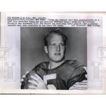1967 Press Photo Packers Star Paul Hornung Among Natl. Football League Entry