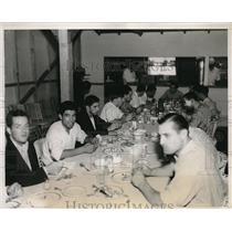 1932 Press Photo Argentine Olympians to start training in LA, Calif.