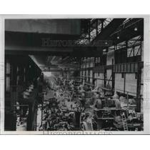 1937 Press Photo World's Largest Strip Mill Nears Completion At Republic Steel