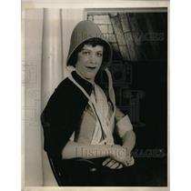 1930 Press Photo Mrs E..des Melcher at rehearsal for Not Now..Later
