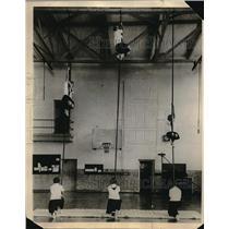 1925 Press Photo Texas Girls North Dallas school Physical Ed
