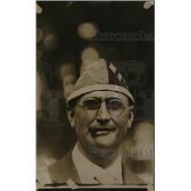 1920 Press Photo G.O.P. hat