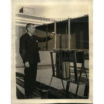 1932 Press Photo Ultra short wave radio, Dr E.I. Mouromsteff, Westinghouse