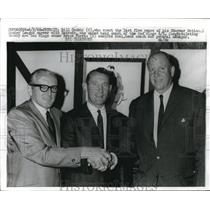 1968 Press Photo Bill Gadsby Named New Head Coach Of Red Wings - nes05096