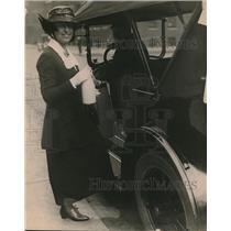 1919 Press Photo Mrs Joe T. Ryerson, Chicago society woman