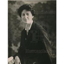 1920 Press Photo Ms Gertude Cogin, Girls Work Secretary of the Centinial Board