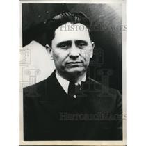 1932 Press Photo Bennett Griffin, Hopes to Break Record of Flight Around World