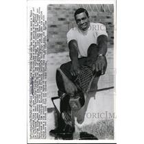 1967 Press Photo Robert Hayes, Dallas Cowboys - nes04885