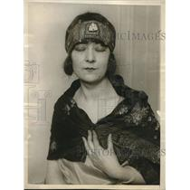 1926 Press Photo Baroness Aletta Lydia De Briess Countess Hungary - neb64075