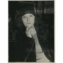 1932 Press Photo Mrs Palmina Robenoff, dance instructor & actress in LA, Calif.