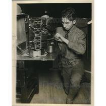 1927 Press Photo NYC, 71st Regt. Field Artillery prep for Military tournameny