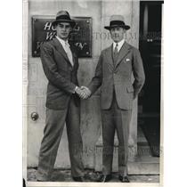 1929 Press Photo Nicholas Ludtington Brook Parker Air derby