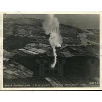 1936 Press Photo Dropping a Parachute Flare at 2500 Feet