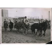 1931 Press Photo 2nd Fiera Del Levante parade at Bari, Italy
