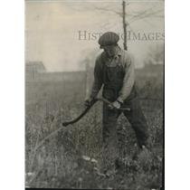1921 Press Photo Labor Tejhi