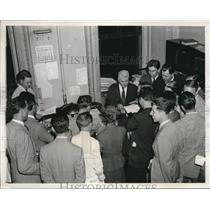 1939 Press Photo Michael McDermott Press State Department & Correspondents