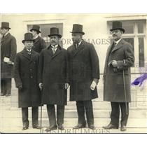 1922 Press Photo Nicaraguan delegates to the Conference on Central America in DC