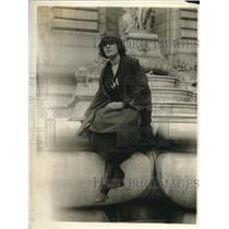 1919 Press Photo Katherine Jackson traveled around the globe for missing father