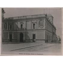 1922 Press Photo Post Office building at Guatemala City