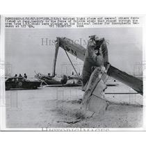 1967 Press Photo Boulder, Colo.Wreckage of light plane crash from Chinook winds