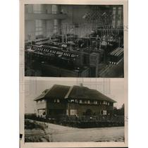 1925 Press Photo Koopwijk Radio Station