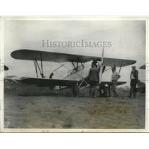 1928 Press Photo The Warner Scareb plane piloted by W.H. Emery for a race