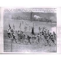 1962 Press Photo Reenactment of Battle of Antietam