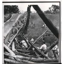 "1 962 Press Photo Confederate ""Troops"" Antientan Battle Re-actment Washington"