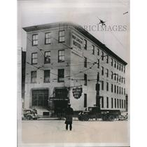 1934 Press Photo New Condon Hotel in Baltimore, Md closed in a Federal raid