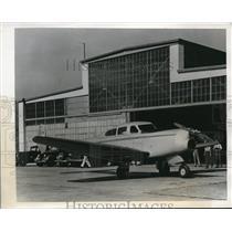 1939 Press Photo Burbank, Calif. New Vega airplane by Lockheed Corp.