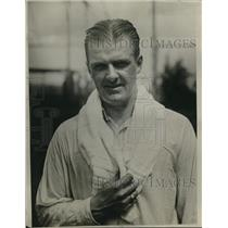 1925 Press Photo Raymond J. Casey US teenis player at Wimbledon