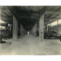 1924 Press Photo Air Compressors in Unnamed Manufacturing Plant