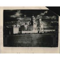 1919 Press Photo Mission de Ben Xavier Del Hoc just outside Tuscon, Ariz