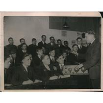 1922 Press Photo Chicago High School Radio Class