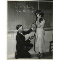 1933 Press Photo Jimmy Barton & Helen Martenson Great Depression Era - neb91976
