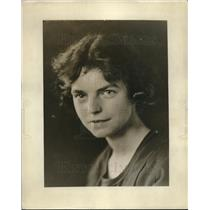 1922 Press Photo Anna Grey Clemens