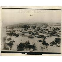 1929 Press Photo Elba Alabama devastated by flood