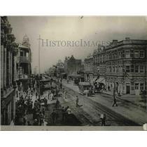 1925 Press Photo Johannesburg Business Center in 1895 - neb91608