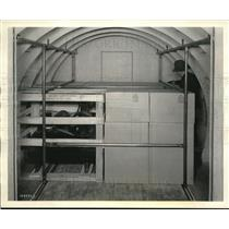 1942 Press Photo Interior Of Cargo Plane Carrying Products - neb69935