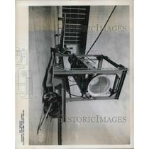 1945 Press Photo Aircraft Enginge research labs at Cleveland, Ohio