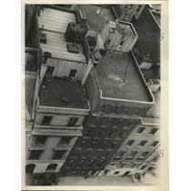 1933 Press Photo Pent House Occupied by Harry Glemby - neb94876