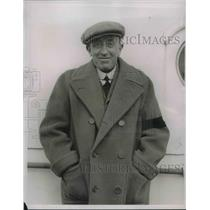 1936 Press Photo Sir Francis Toble Director of Gordon Hotels Syndicate