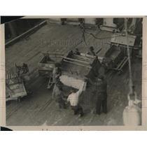 1919 Press Photo N.Y. Longshoreman strike ends
