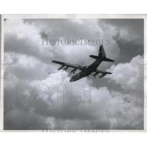 1960 Press Photo A C-130 Hercules transport plane from Lockheed Co - neb94264