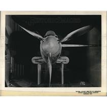 Press Photo Aircraft Engine Research Lab testing of planes in Cleveland, Ohio