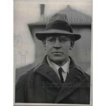 1924 Press Photo Coach Stevens of Harvard Univ, crew