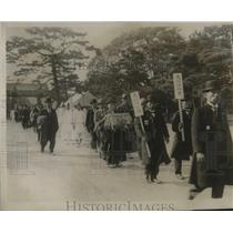 1928 Press Photo Coronation parade of the Mikado in Japan