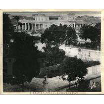 1935 Press Photo Cienfuegos, Cuba aerial view of city before hurricane struck