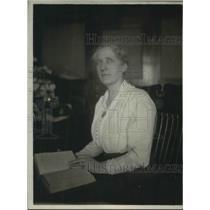 1918 Press Photo Olive S Gabriel Woman Attorney