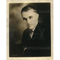 1929 Press Photo Joe Godfrey Jr., well known sporting authority of Chicago